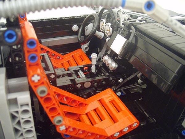Amazing Lego Audi R8 Gadgetsin