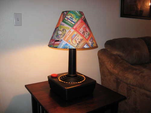 ATARI Game Console Table Lamp