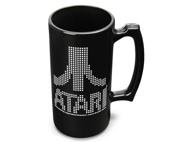 ATARI Pixel Logo Stein
