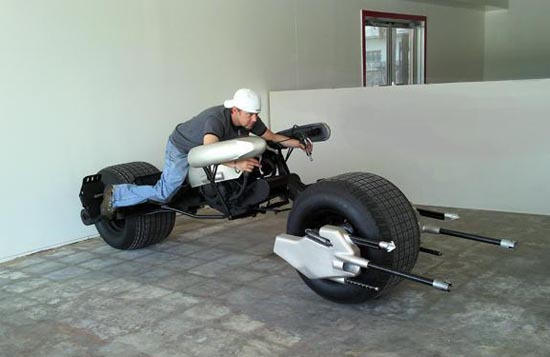 Available Custom Built Batman Batpod Motorcycle