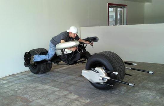 Available Custom Built Batman Batpod Motorcycle
