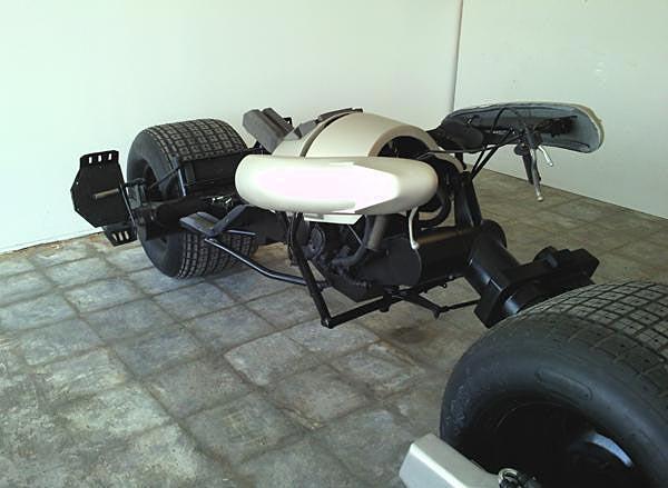 Honda Used Cars >> Available Custom Built Batman Batpod Motorcycle | Gadgetsin