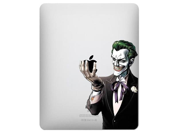 Batman's Deadly Enemy Joker iPad Decal