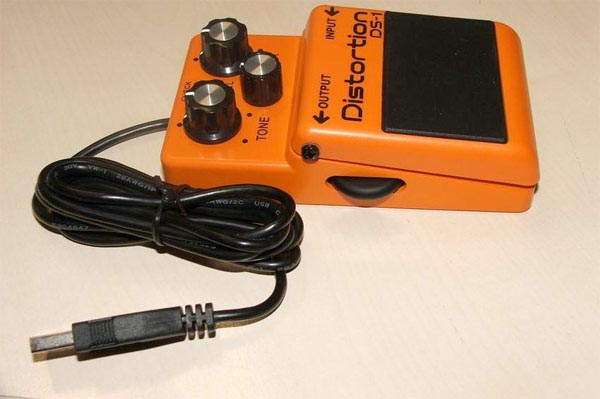 BOSS DS-1 Distortion Pedal USB Mouse