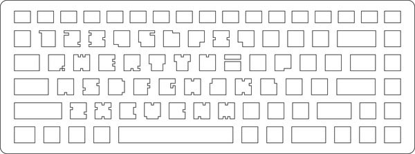 Crazy Computer Keyboard with Font Art