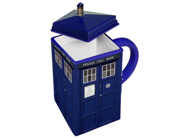 Doctor Who Tardis Shaped Mug