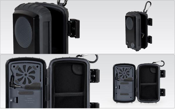 Eco Extreme Rugged All Terrain Speaker Case by Grace Digital