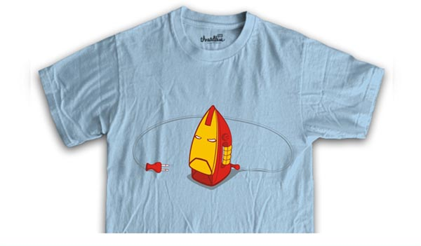 Fun Iron Man 2 T-shirt