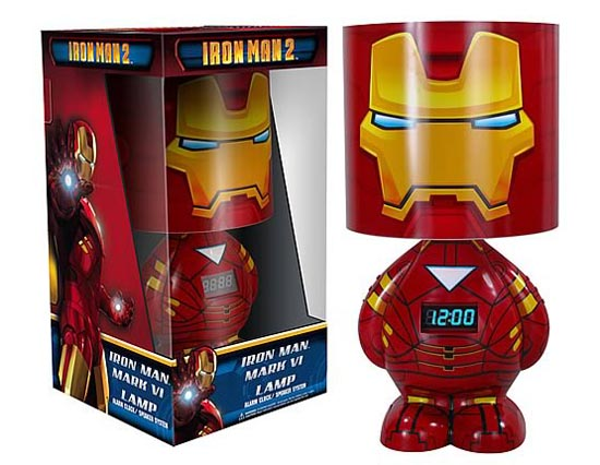 Funko Iron Man 2 Clock Lamp with Speaker also Available