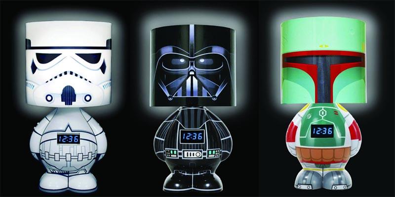 Funko Star Wars Clock Lamp With Speaker Available Gadgetsin