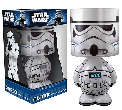 Funko Star Wars Clock Lamp with Speaker Available