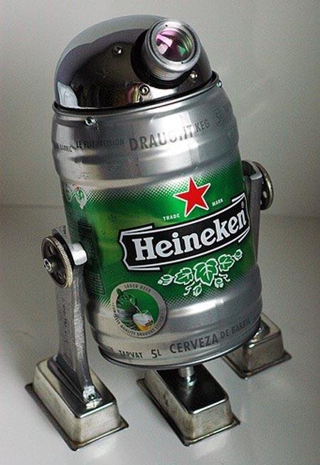 Heineken Star Wars R2-D2 Robot