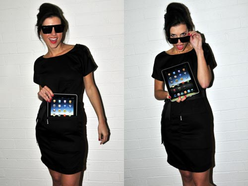 iClothing iDress iPad Dress