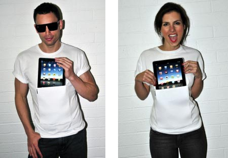 iClothing iTee iPad T-shirt