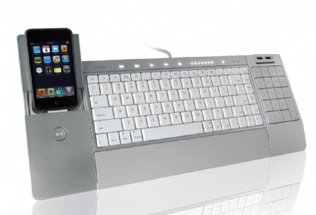iHome iConnect Computer Keyboard also for iPhone and iPod