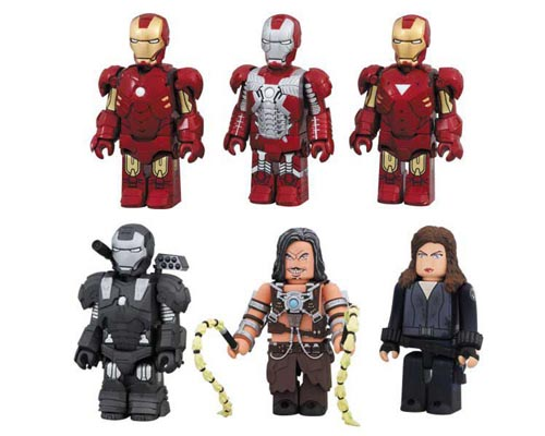 Iron Man 2 Kubrick Figures