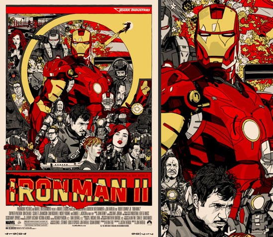 Iron Man 2, we're all ready including cream paper