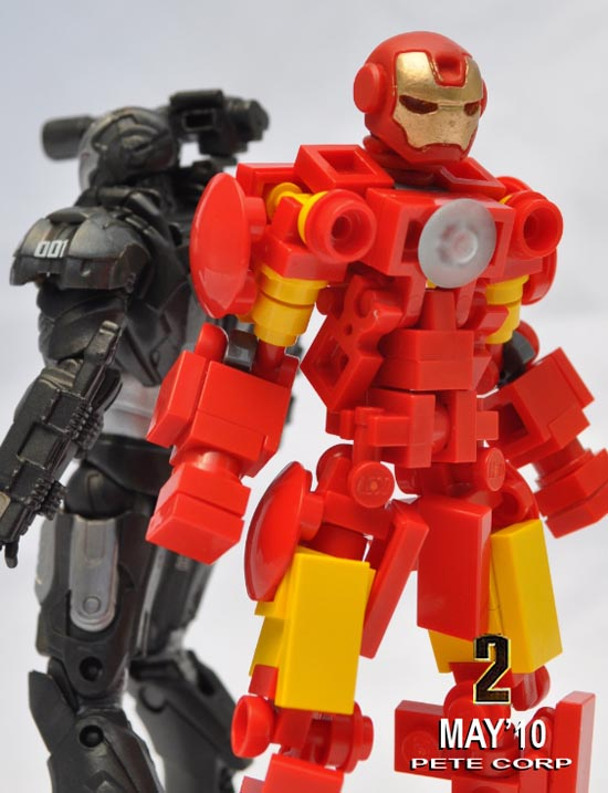 Latest LEGO Iron Man 2 Figure