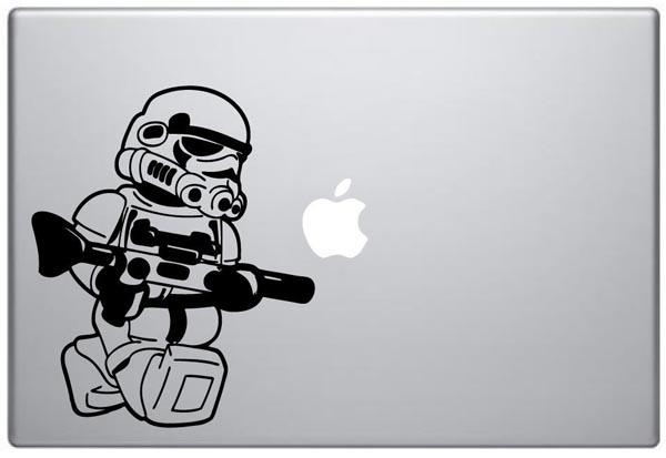LEGO Stormtrooper Minifigure MacBook Decal