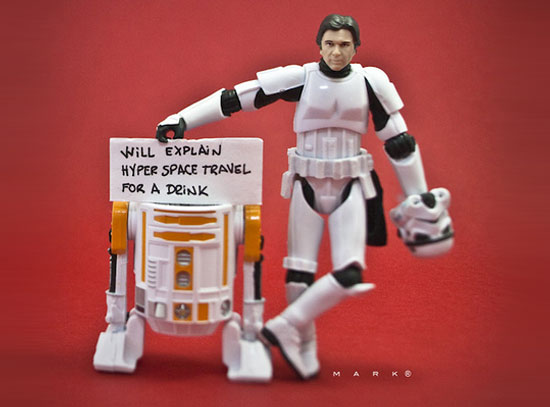 Little Known Life Of Stormtroopers And Other Characters