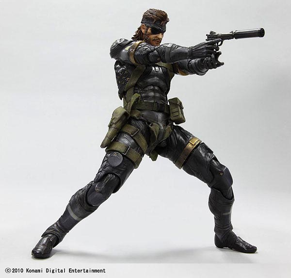 Metal Gear Solid Peace Walker Snake Action Figure