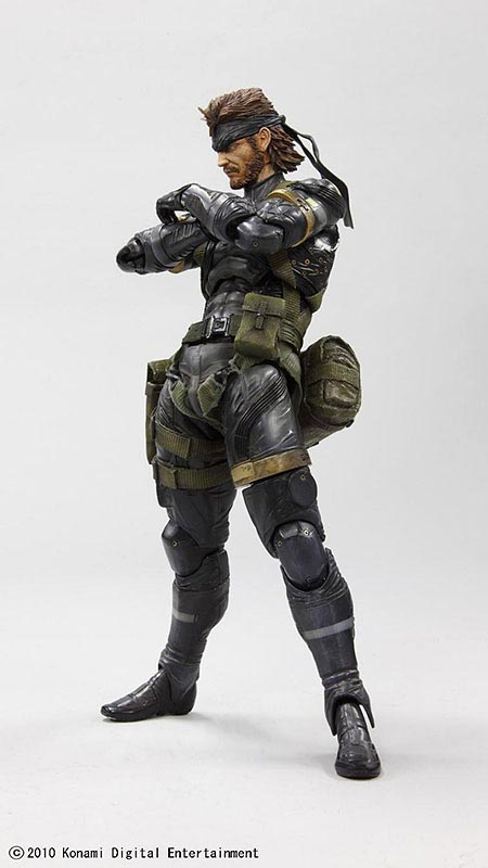 Metal Gear Solid Peace Walker Snake Action Figure Gadgetsin