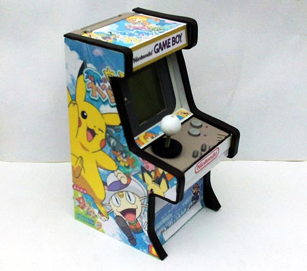 Mini Arcade shaped GameBoy Mod