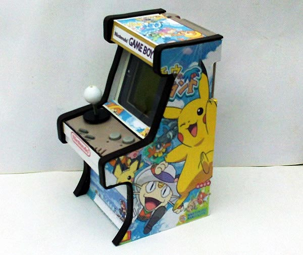 Mini Arcade shaped GameBoy Mod | Gadgetsin