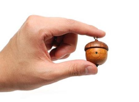 Motz Handcrafted Wooden Tiny Speaker
