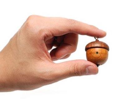 Motz Handcrafted Wooden Tiny Speaker