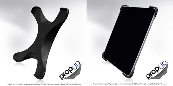 PropUp X-shaped iPad Stand