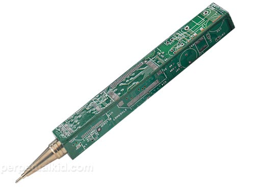 Recycled Circuit Board Pen