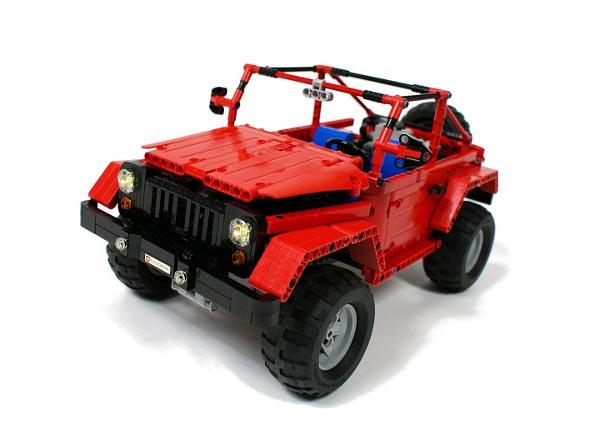 Remote Control LEGO Jeep Wrangler Rubicon