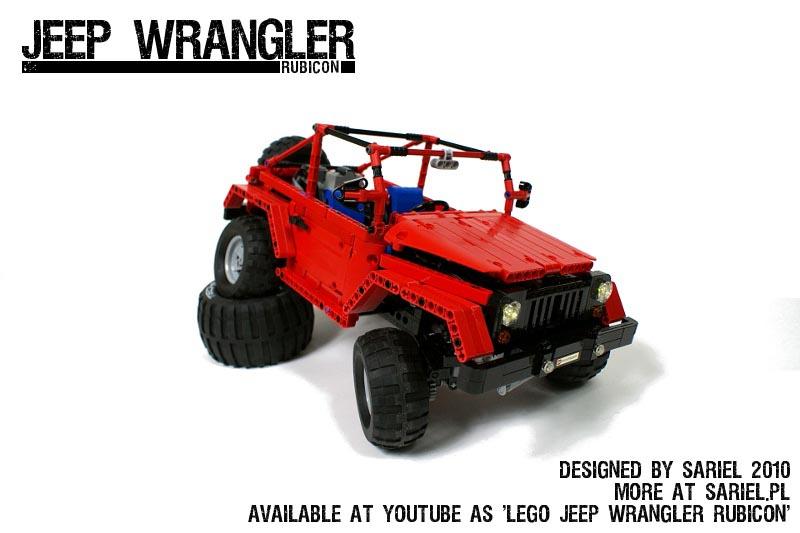 Remote Control LEGO Jeep Wrangler Rubicon | Gadgetsin