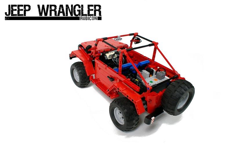 Remote Control Lego Jeep Wrangler Rubicon Gadgetsin