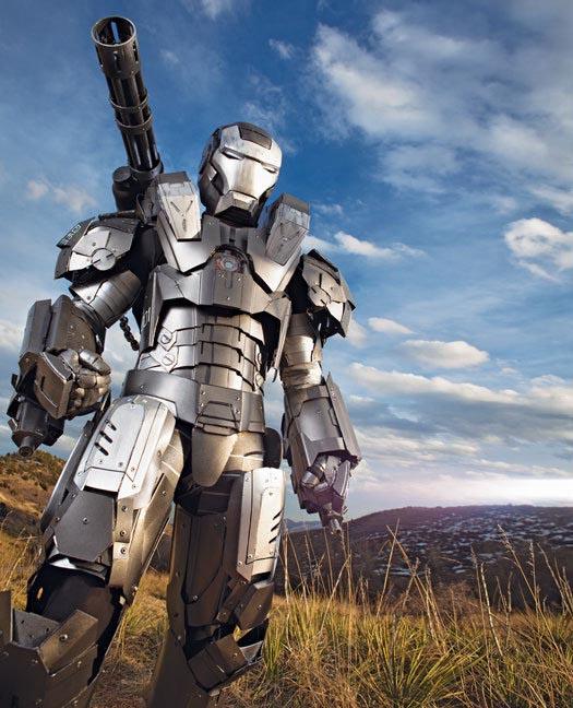 The Best Iron Man 2 War Machine Costume
