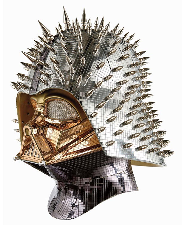 Unusual Darth Vader Helmets