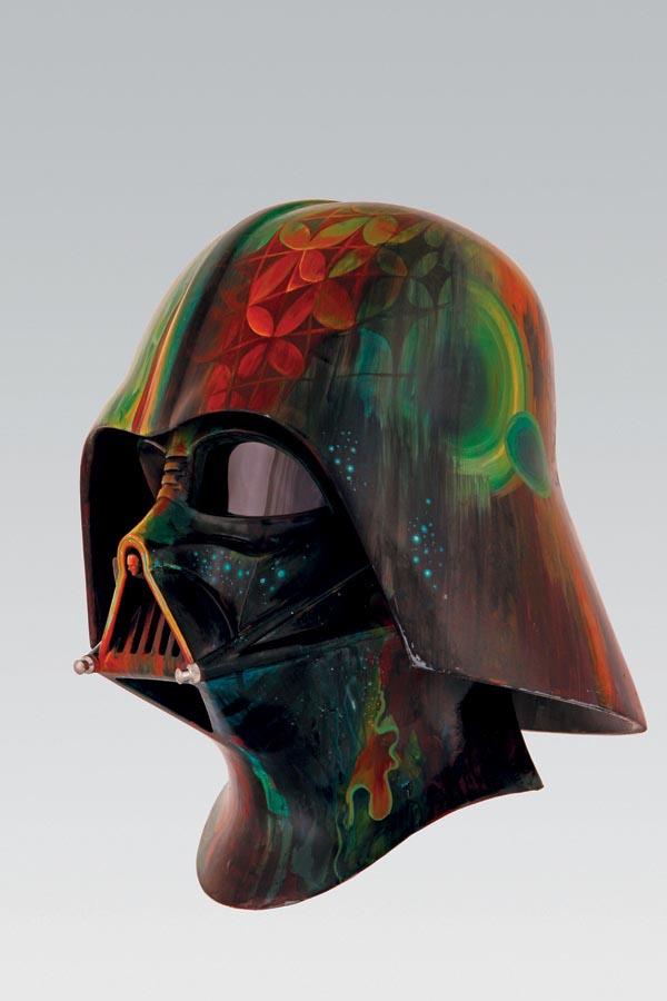 Unusual Darth Vader Helmets Gadgetsin