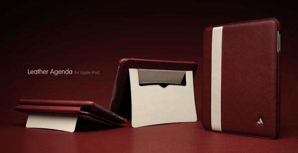 Vaja Leather Agenda iPad Case