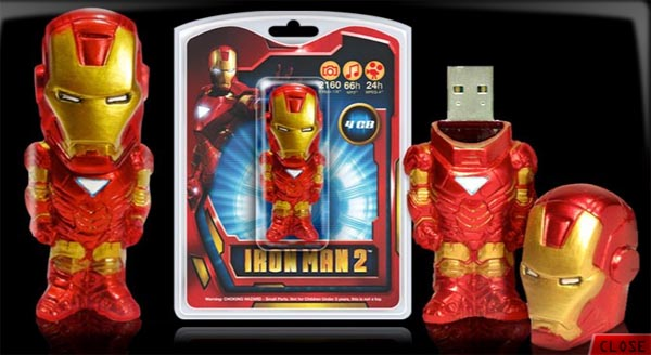 Yet Another Iron Man 2 USB Flash Drive