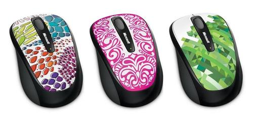 New Colorful Microsoft Wireless Mouse 3500 Series
