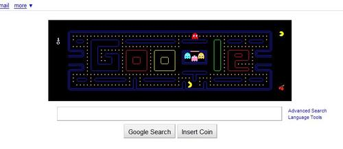 Play Pac-man on Google Search