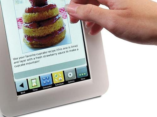 An eBook Reader Dedicated to Recipes
