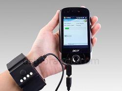 USB External Battery Charger Shaped as Wrist Band