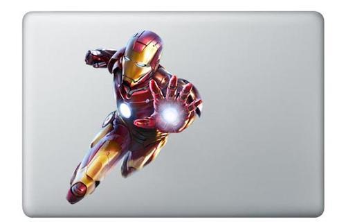 Full Color Iron Man MacBook Sticker