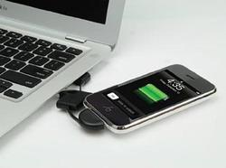 Scosche flipSYNK Keychain Shaped iPod and iPhone Charger