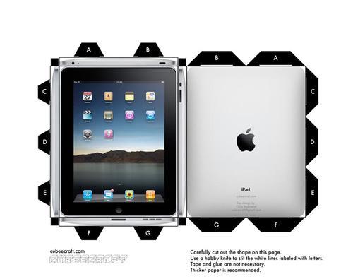Make a Cubeecraft iPad for your Steve Jobs