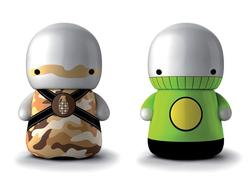 Deego Art Toys Figure USB Flash Drive
