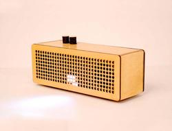 WUD Eco-friendly Wooden Speaker from Chile