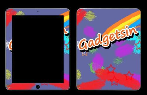 Custom iPad Skin via Unique Skins